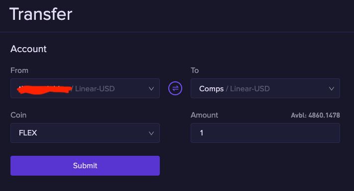 fund3 1.2.5 Funding a sub account