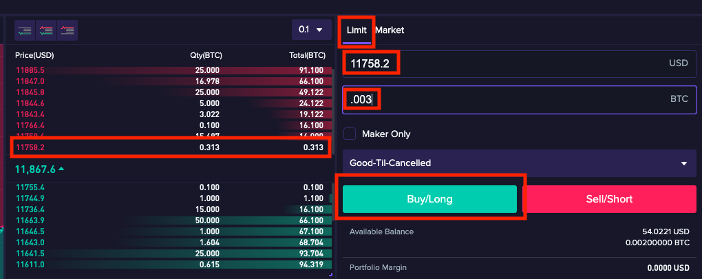 Trade5 1.1.10 Basics of how to trade on CoinFLEX