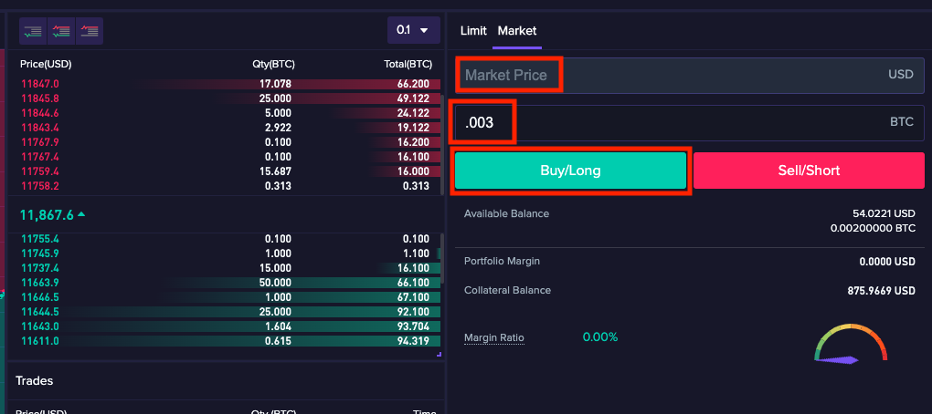 trade6 1.1.10 Basics of how to trade on CoinFLEX