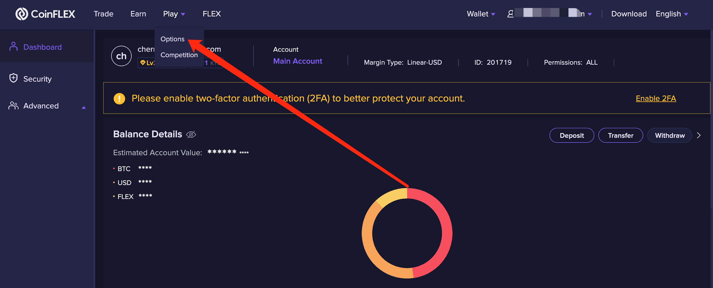 W1 2.2.6 CoinFLEX Options