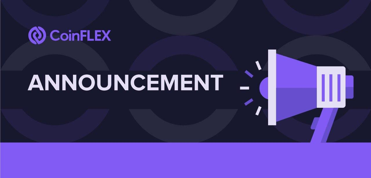 Announcement CoinFLEX announcement on the upcoming BCH Fork
