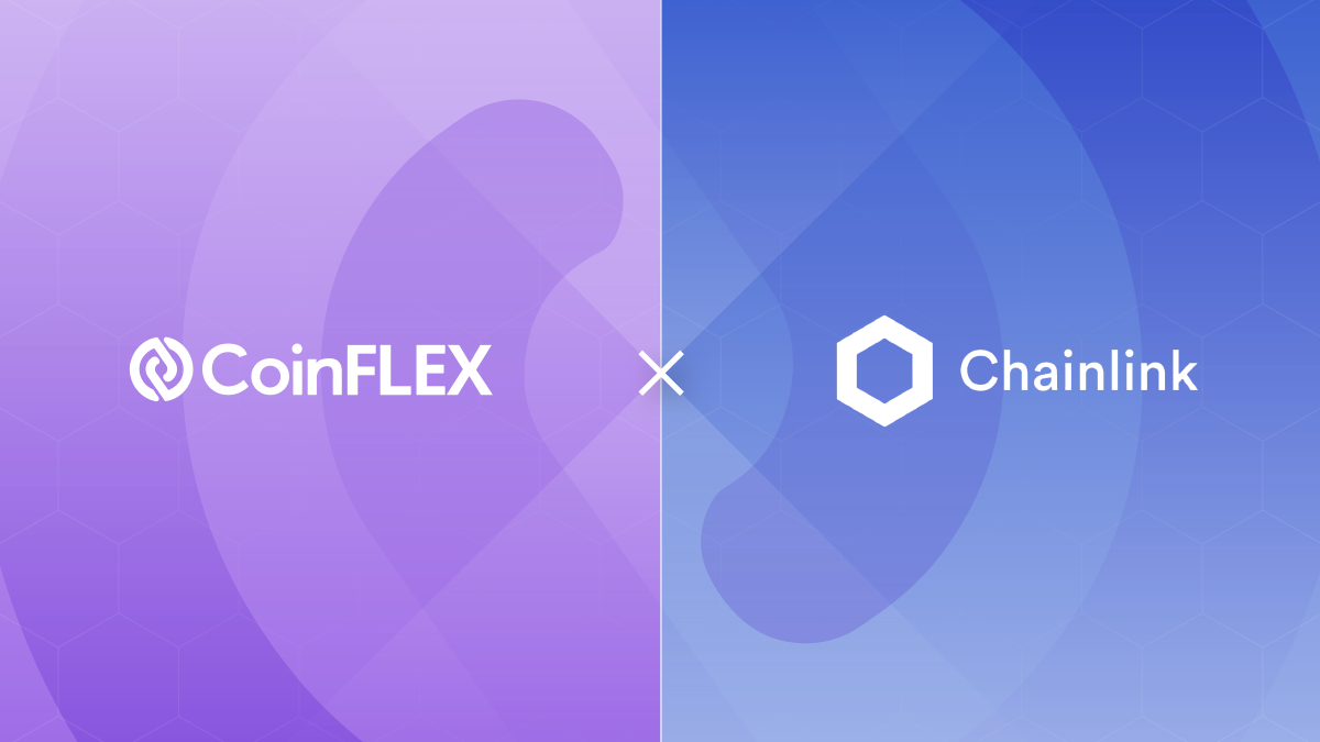 CoinFLEX X Chainlink Partnership Announcement